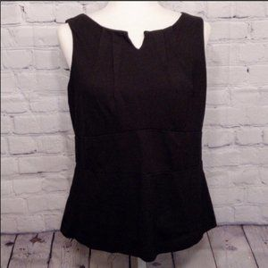 CAbi Tops - CAbi Black Ponte Knit Perfect Shell Top #649